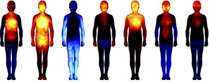 Registro de emociones en el cuerpo (Aalto University)